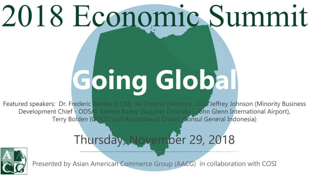Economic Summit Going Global